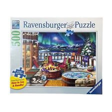 Ravensburger Puzzle, Northern Lights, 500 Pieces, Large Piece Format, Colorful