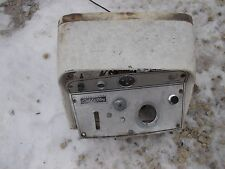 International Cub 154 low boy IH Tractor dash panel hood cv w/ gauges & switches