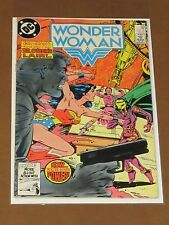 """Wonder Woman #320 Fn """"Launch On Warning!"""" Don Heck Art Dr. Cyber Huntress 1984"""
