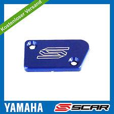 bremszylinder deckel VORNE BLAU YAMAHA YZ 125 250 YZF 250 450 YZ250F YZ450F SCAR