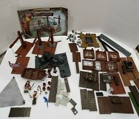 MEGA Bloks Pirates of the Caribbean Port Royal #1016 Incomplete + 58 Extras