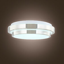 White LED Bowl Ceiling Light Modern Chandelier Pendant Lighting Fixture Fitting