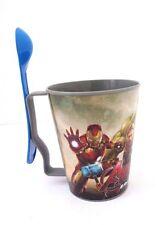 Marvel Avengers Era DE Ultron Kids Boy's Plastic Mug With Detachable Spoon NEW