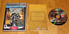 JEU PS2 PS3-BROTHERS in ARMS-ROAD to HILL 30-Complet boîtier notice