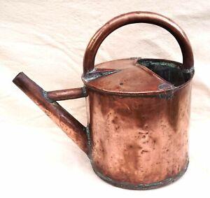 Fench Copper Watering Can Arrosoir Garden 19th Century