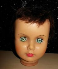 """Patti Playpal Type Doll HEAD Companion Life Size  Doll Vintage for 35""""-36"""""""