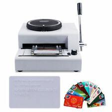 Estampadora para tarjetas de crédito