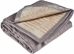 AU STOCK - 180x260cm/BRAND NEW - Reversible Embroidery Quilts & Bed Covers