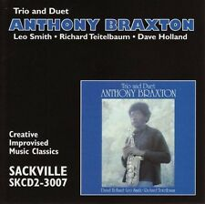 Trio & Duet - Anthony Braxton (2002, CD NUOVO)