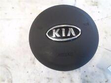 2010-2011 Kia Soul Driver Wheel Airbag Air Bag BLACK OEM 10 11 AIR-BAG BLACK