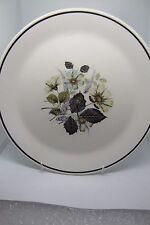 Johnson Brothers Wildmoor Dinner Plate 26 cm Grey Flowers 2nd Quality British