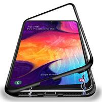 Pour Samsung A30S A70 A50 Note 10 Plus Aimant Housse Étui &