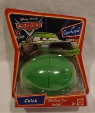 Disney Pixar Cars Supercharged Easter Egg Chick Hicks Die Cast Car NEW 2007