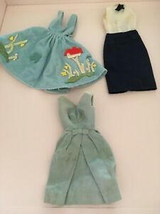 Vintage Barbie clothing  Blue lot