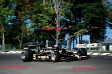 Mario Andretti JPS Lotus 79 USA East Grand Prix Watkins Glen 1978 Photograph 2