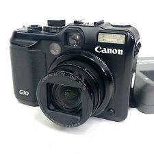 Canon PowerShot G10 14.7 MP Digital Camera Black