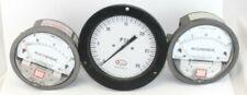 3 Dwyer Magnehelic Spirahelic Pressure Gauges Steampunk Items Cv Tools