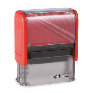 STEMPEL Automatik Imprint  12  (5 Zeilen inkl. Logo)