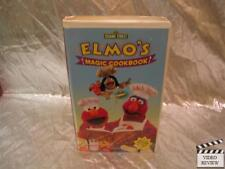 Sesame Street - Elmos Magic Cookbook (VHS, 2001) Large Case