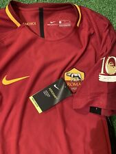 Maglia Roma Autentich Totti Shirt No Match Worn No Indossata Signed Autografata