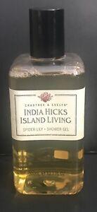 CRABTREE & EVELYN INDIA HICKS ISLAND LIVING SPIDER LILY SHOWER GEL  10.1 FL OZ