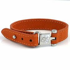 Genuine Leather ID bracelet, Girls Initial Bracelet, Free any Engraving, 18cm