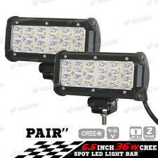 2x 36W Car 12V LED Work Spot Lights Spotlight Lamp 4x4 Van ATV Offroad SUV Truck
