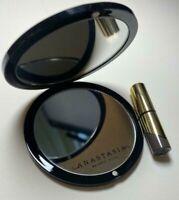 "Anastasia Beverly Hills Dipbrow Gel Dark Brown + Double-Sided Mirror 3"" Gift Set"