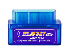 ELM327 OBD2 Diagnostic Interface Scanner Tool Mini Bluetooth Car Fault Detector