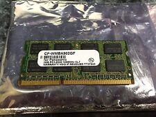 Panasonic 2GB PC3-8500 DDR3 Laptop Memory RAM Sodimm CF-WMBA902GF