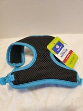 TOP PAW COMFORT HARNESS SIZE X SMALL GIRTH 16in-18in COLOR BLK/BLUE MESH (H)