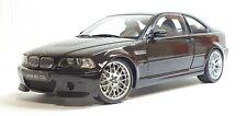 1/18 Kyosho BMW M3 CSL BLACK E46 diecast car model w/box