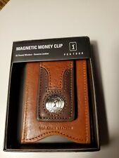 Brand New Leather PGA TOUR Money Clip Wallet Nice!!!