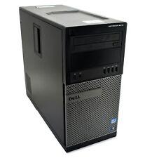 DELL OPTIPLEX 9010 MT TOWER PC QUAD I5-3570 8GB RAM 500GB HD WIN 10 PRO WIFI