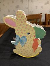"""Enesco Musical Rocking Calico Bunny """"Hi Lily Hi Lo� #Tb3"""