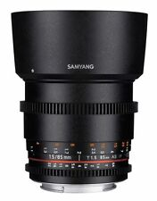 Samyang Sony E-mount Camera Lenses 85mm Focal