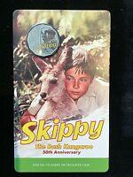 2020 Skippy the Bush Kangaroo 50th Anniversary  Australia 50 Cent Coin.