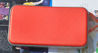 Zipper 80 Pcs Disc Capacity DVD VCD CD Case Storage Bag Wallet Red for Car Media