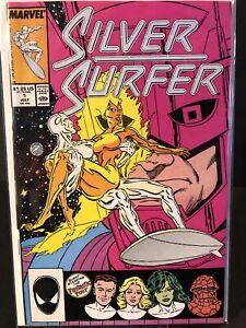 Silver Surfer Vol 3 #1 - Marvel, July 1987 9.2 (RC)