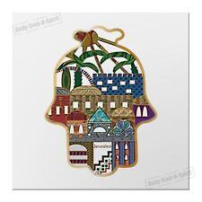 Protection Hamsa Hand Jerusalem Magnet Kabbalah Lucky gift Success holy decor