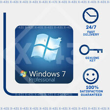 WINDOWS 7 PRO Professional  32/64-BIT, OEM  Genuine License Key