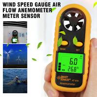 Wind Speed Gauge Air Flow Anemometer Meter Sensor AR816+ Measuring Instruments