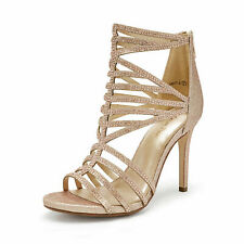 DREAM PAIRS Women's Stilettos High Heel Sandals Open Toe Pump Dress Shoes