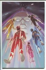 MIGHTY MORPHIN POWER RANGERS 2016 ANNUAL #1 R. CHANG VIRGIN VARIANT COVER - 1/10