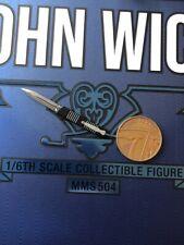 Hot Toys John Wick capítulo 2 MMS504 cuchillo Suelto Escala 1/6th