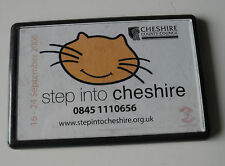 Step Into Cheshire 2006 County Council Fridge Magnet FREE UK P&P