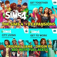 The Sims 4 Pc & Mac + 3 Expansions  - Origin Account Full Acess - Online