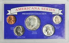 Americana Series Presidents Collection Set of 5 Coins in Holder [3598.16]