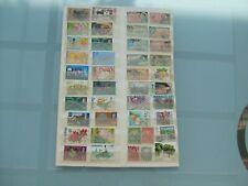 Sammlung Barbados 57 Stück auf Steckkarte Karibik Caribbean