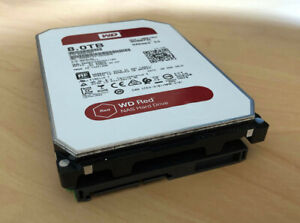 8TB Western Digital WD Red SATA Hard Disk - Used but Works Perfectly!